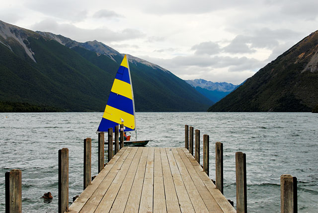 Windsurf at Lake Rotoiti