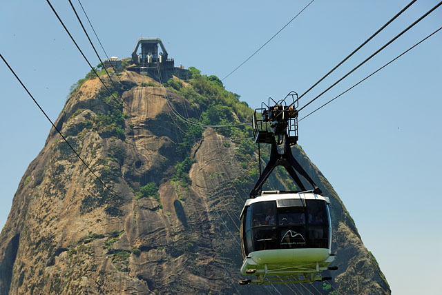 Cable car to Sugarloaf with terminal