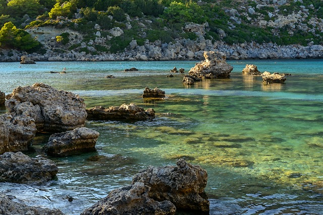 Anthony Quinn Bay, Rhodes