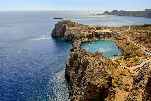 St Paul's Bay, Lindos