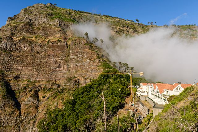 clouds at Eira do Serrado, Madeira