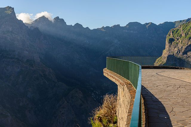 viewing platform at Eira do Serrado, Madeira