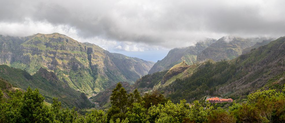 view from Encumeada, Madeira