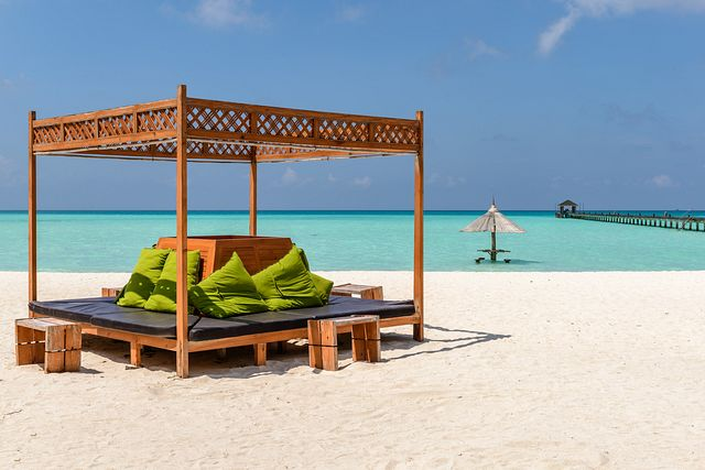 Leisure at Holiday Island, Maldives